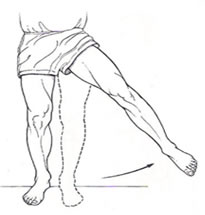 STANDING HIP ABDUCTION